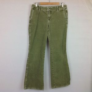 Eddie Bauer Corduroy Pants Womens 8 Distressed